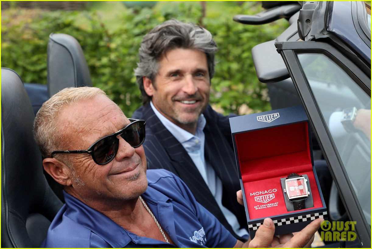 Patrick Dempsey Heads To France For Tag Heuer Event Photo 4310608