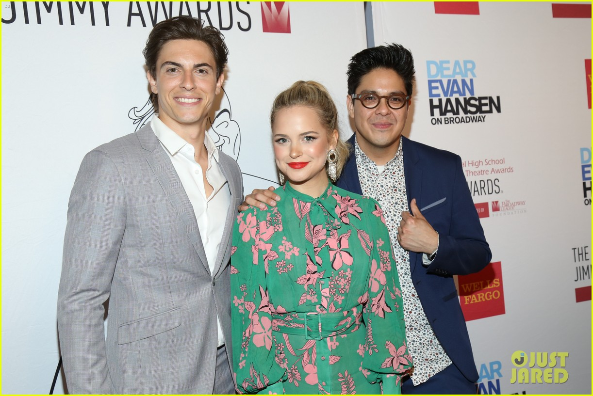 ben platt stephanie styles more celebrate high school musical theatre at jimmy awards 2019 02