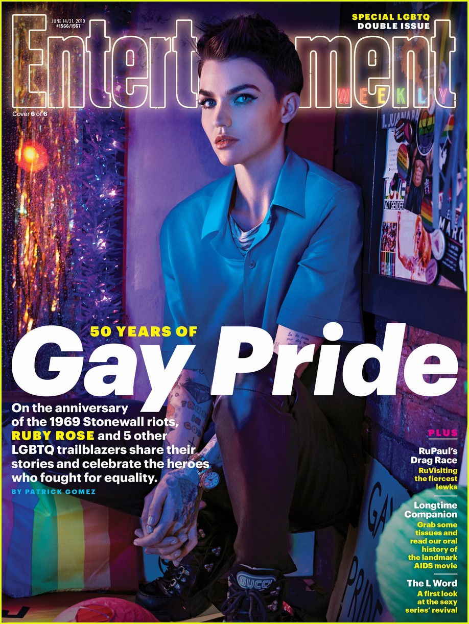entertainment weekly pride issue 014303870