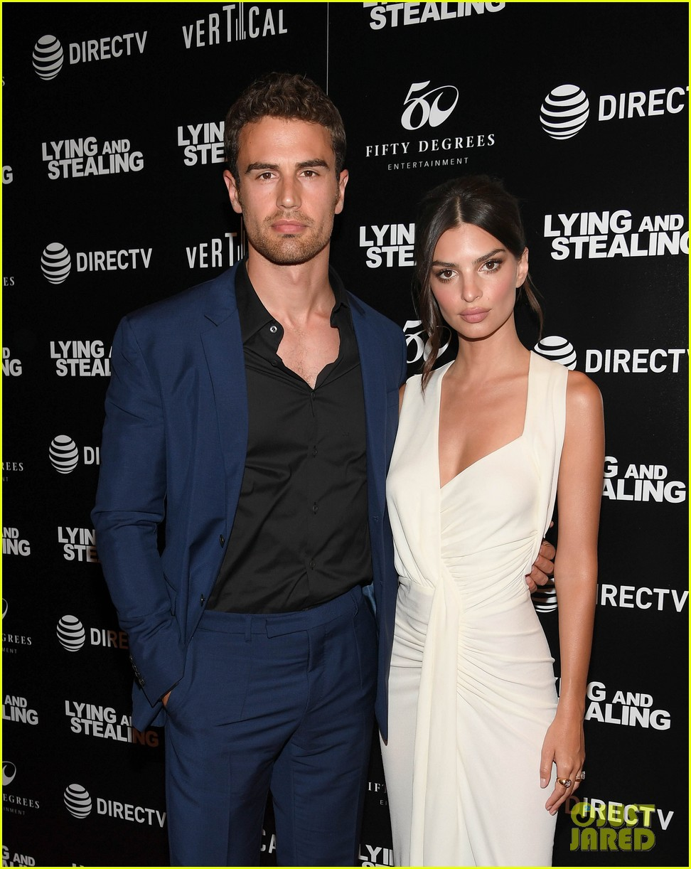 emily ratajkowski wows in white dress at lying and stealing screening in nyc 064311340