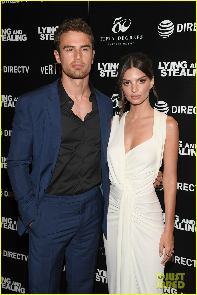emily ratajkowski wows in white dress at lying and stealing screening in nyc 084311342