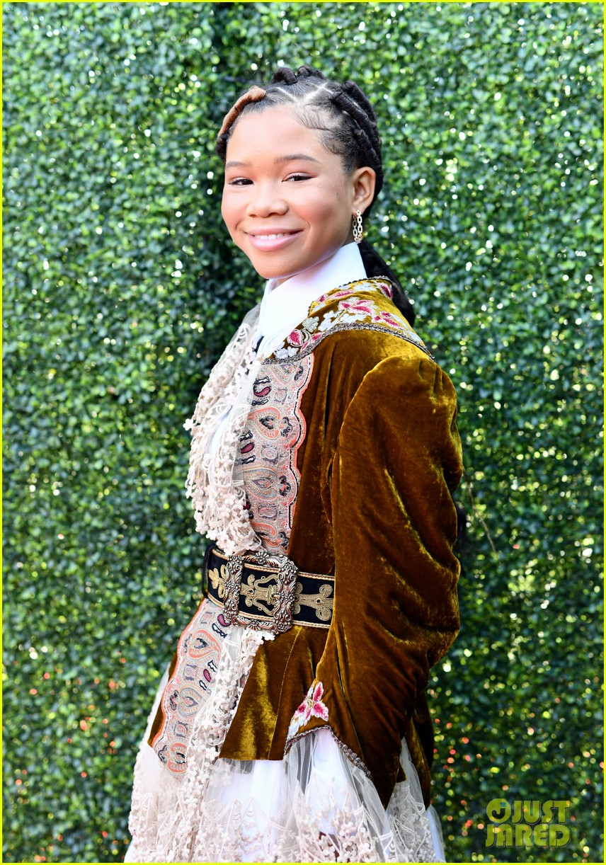storm reid flashes a smile mtv movie tv awards 094310587
