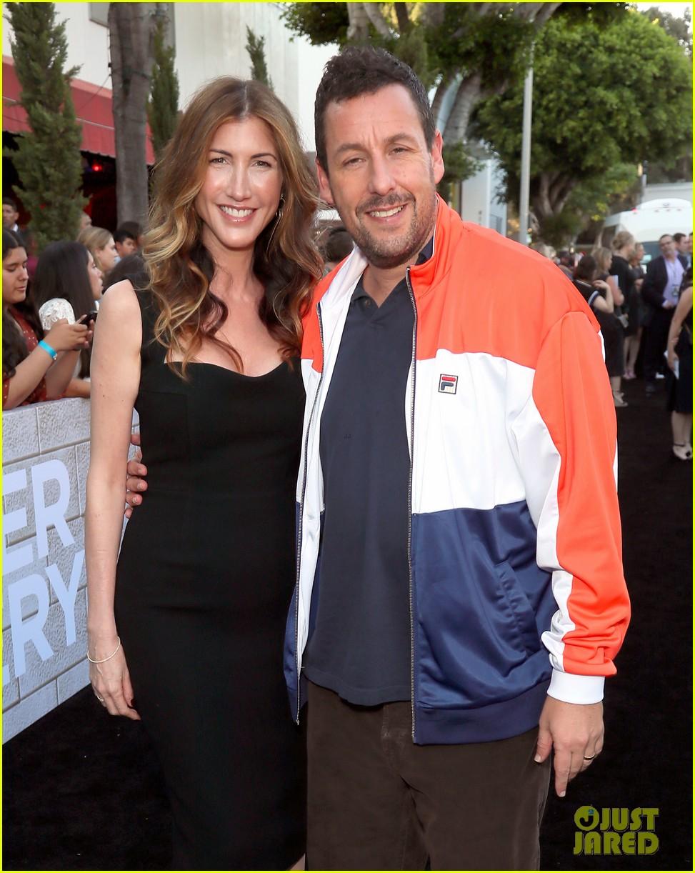 Did You Catch Adam Sandler's Wife Jackie in 'Murder ...