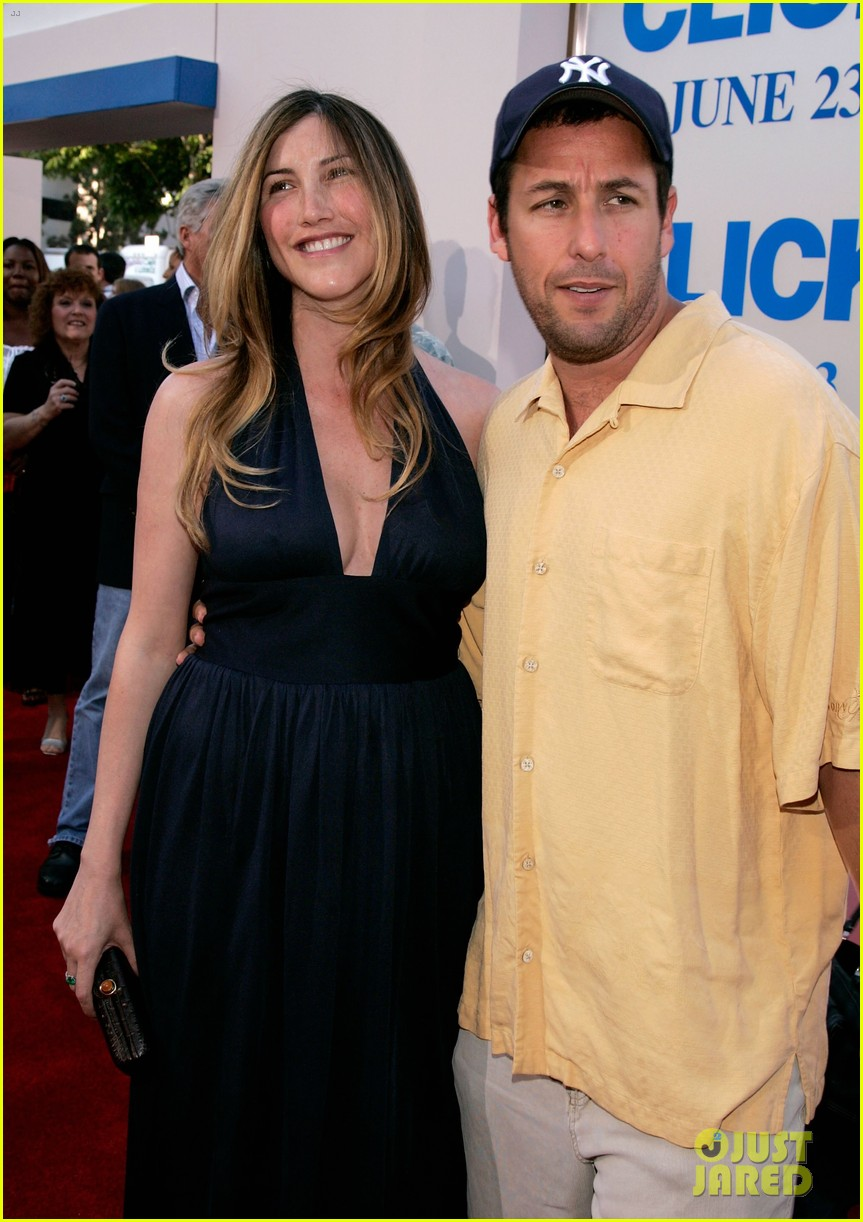 adam sandler with wife jackie sandler 08