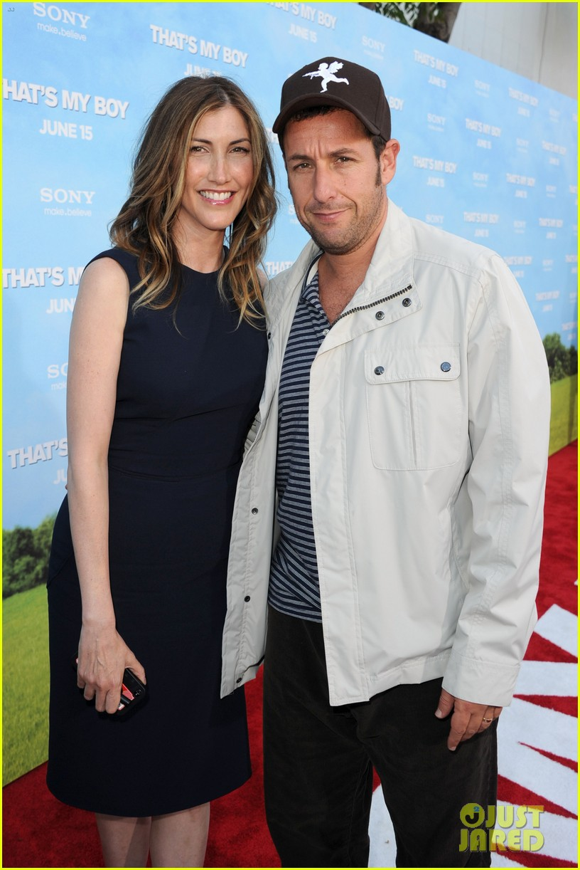 adam sandler with wife jackie sandler 15