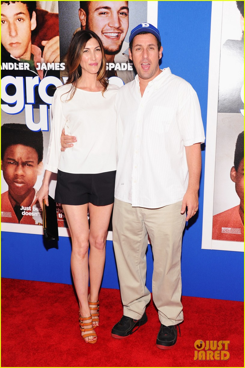 adam sandler with wife jackie sandler 17