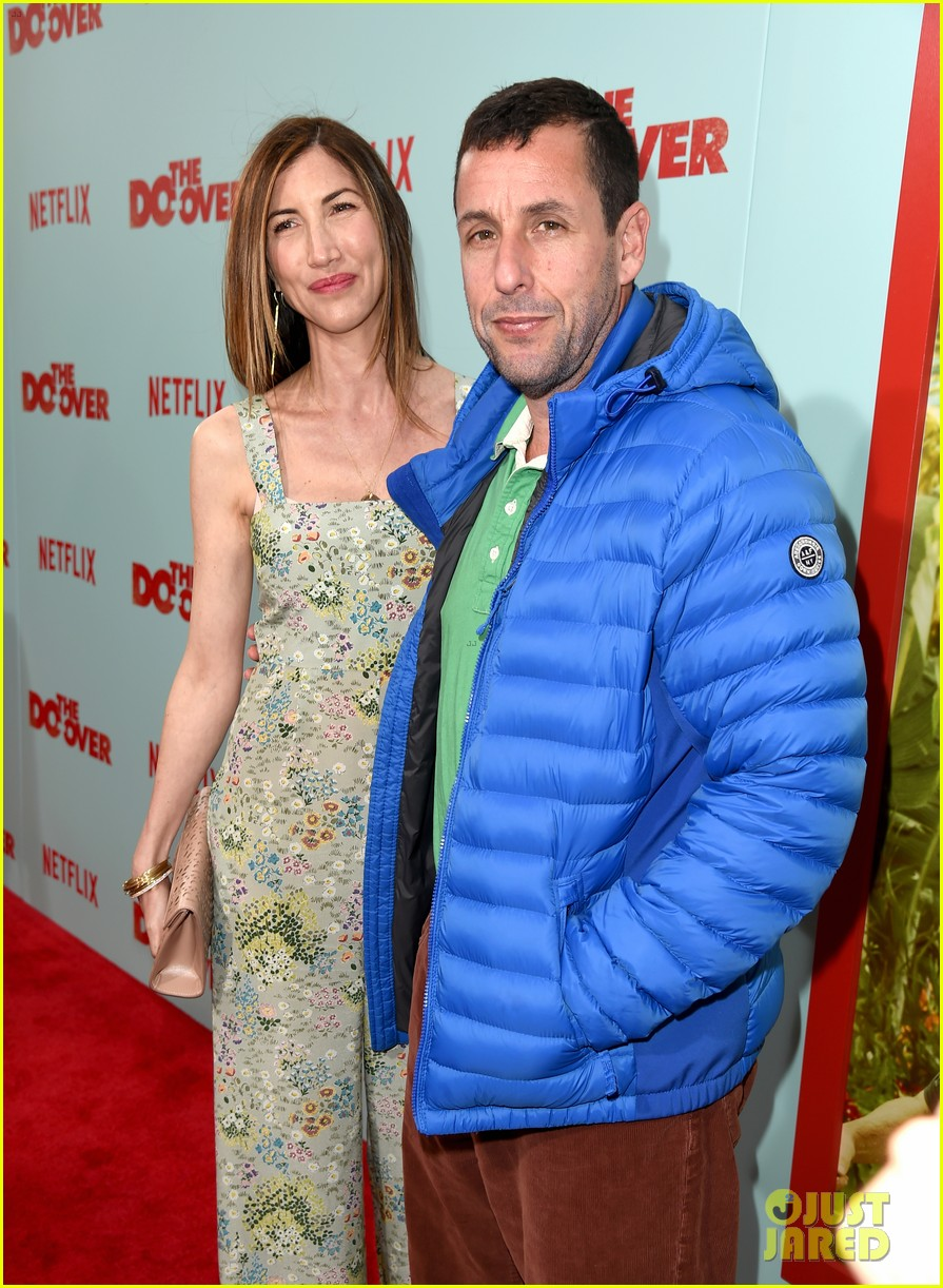 adam sandler with wife jackie sandler 22