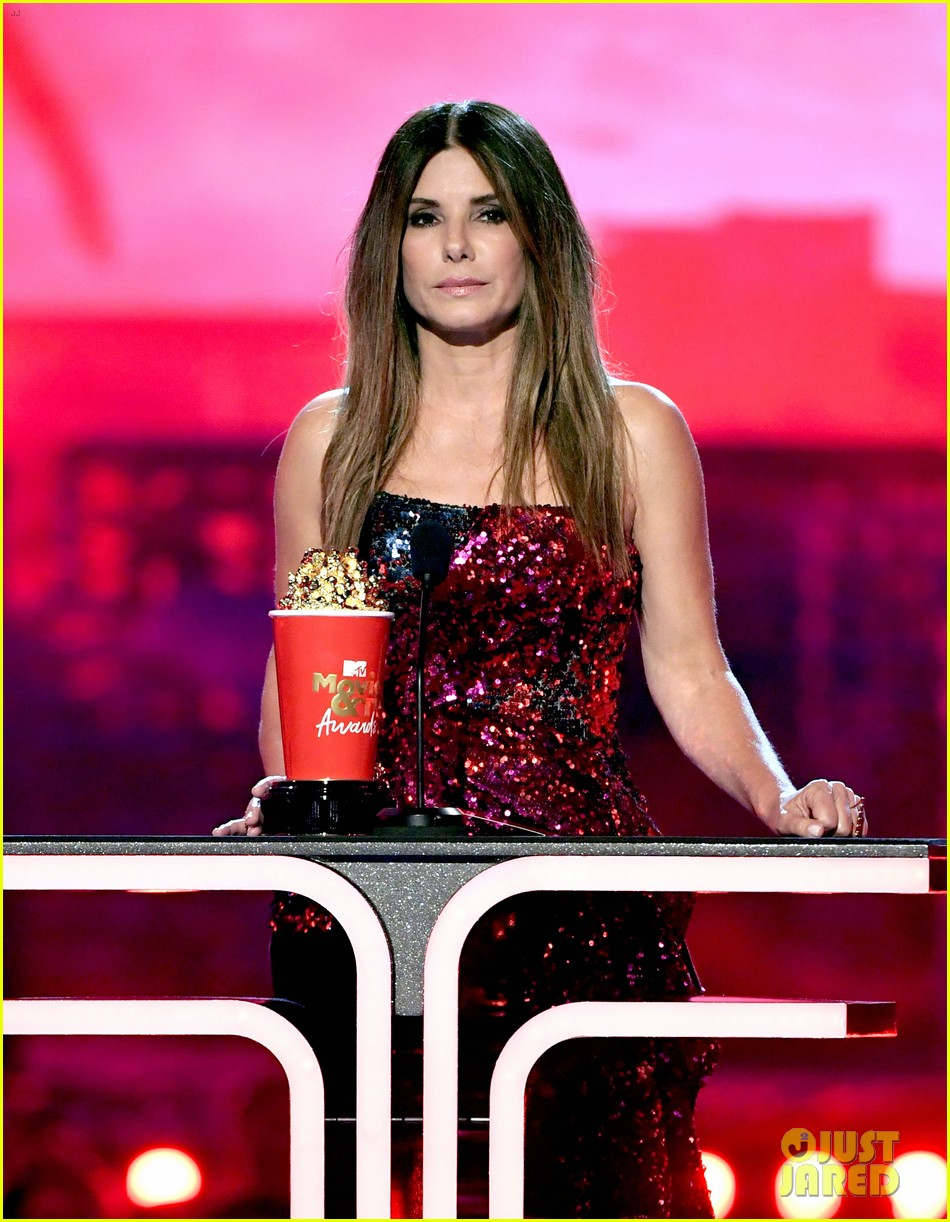 sandra bullock mtv movie awards acceptance speech 044311198
