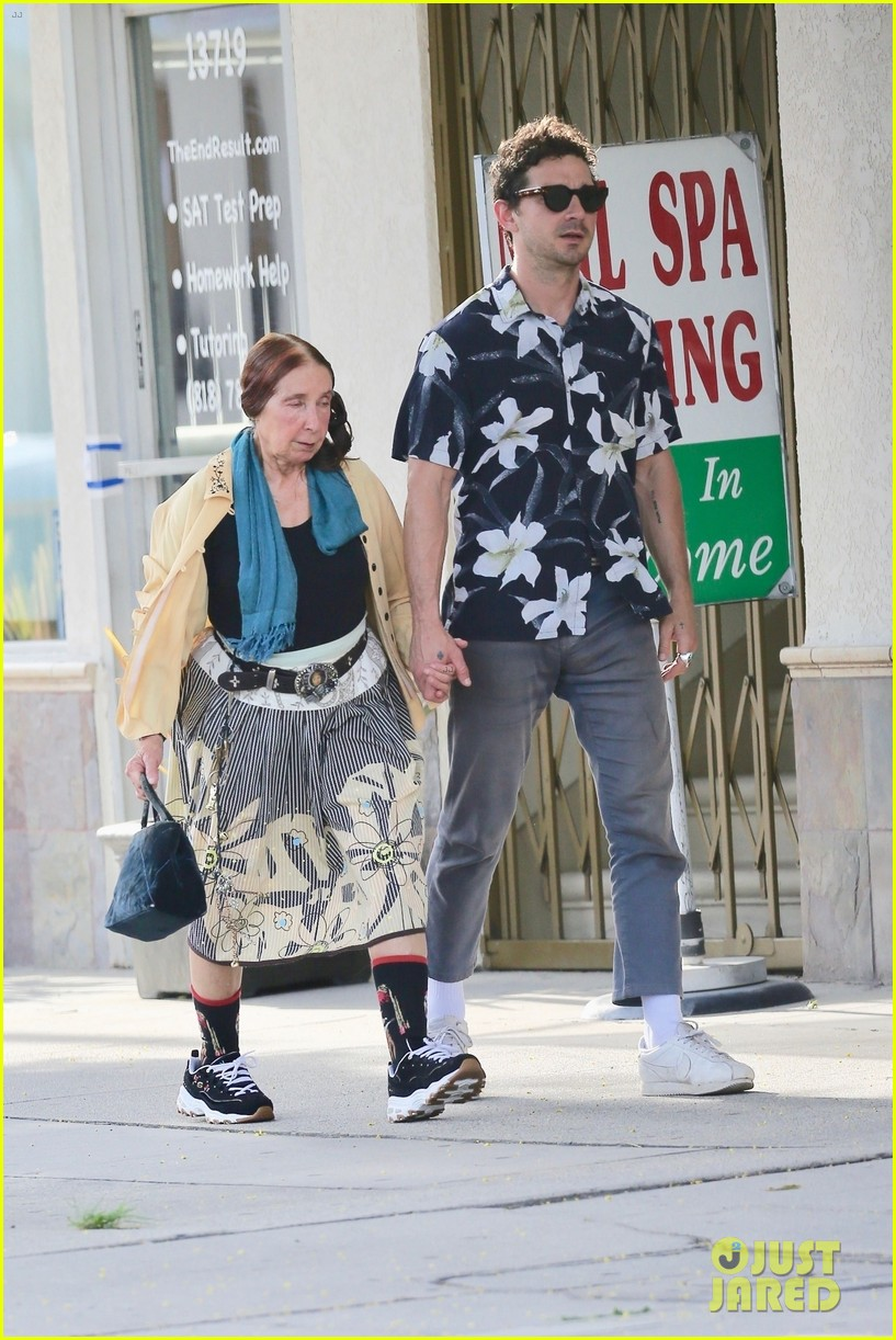 shia labeouf celebrates 33 birthday with his mom 034308464