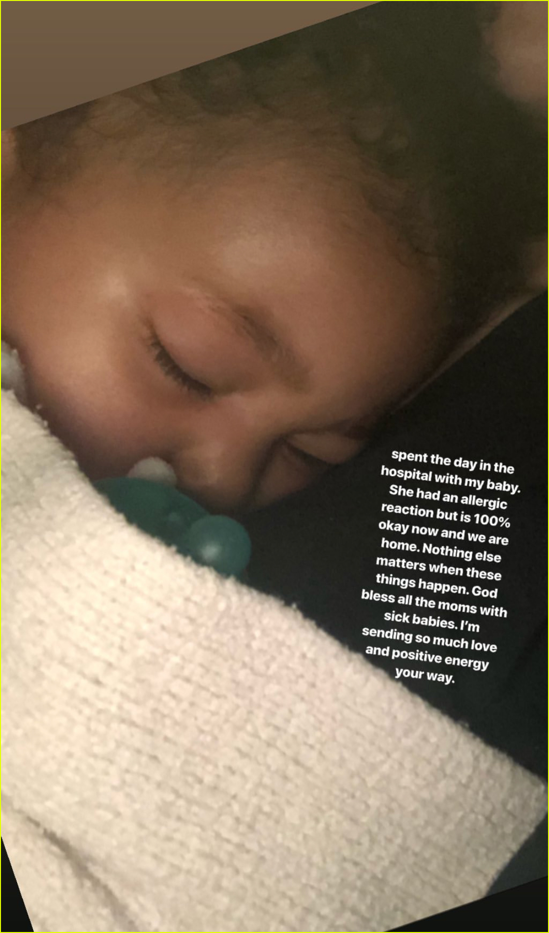 kylie jenner daughter stormi hospitalized for allergic reaction4302156