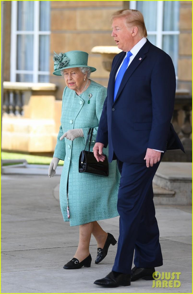 donald ivanka trump meet with queen elizabeth ii at buckingham palace 01