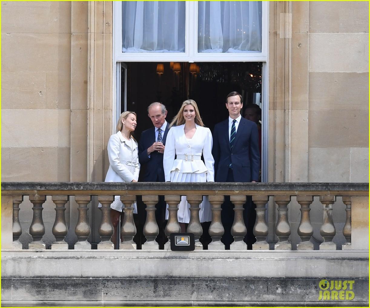 donald ivanka trump meet with queen elizabeth ii at buckingham palace 02