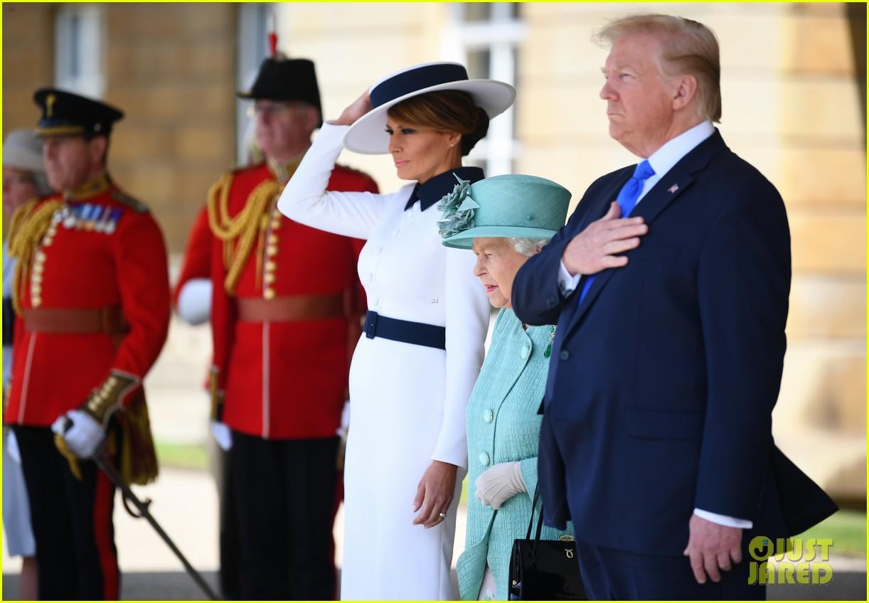 donald ivanka trump meet with queen elizabeth ii at buckingham palace 04