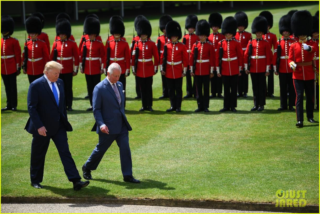 donald ivanka trump meet with queen elizabeth ii at buckingham palace 05