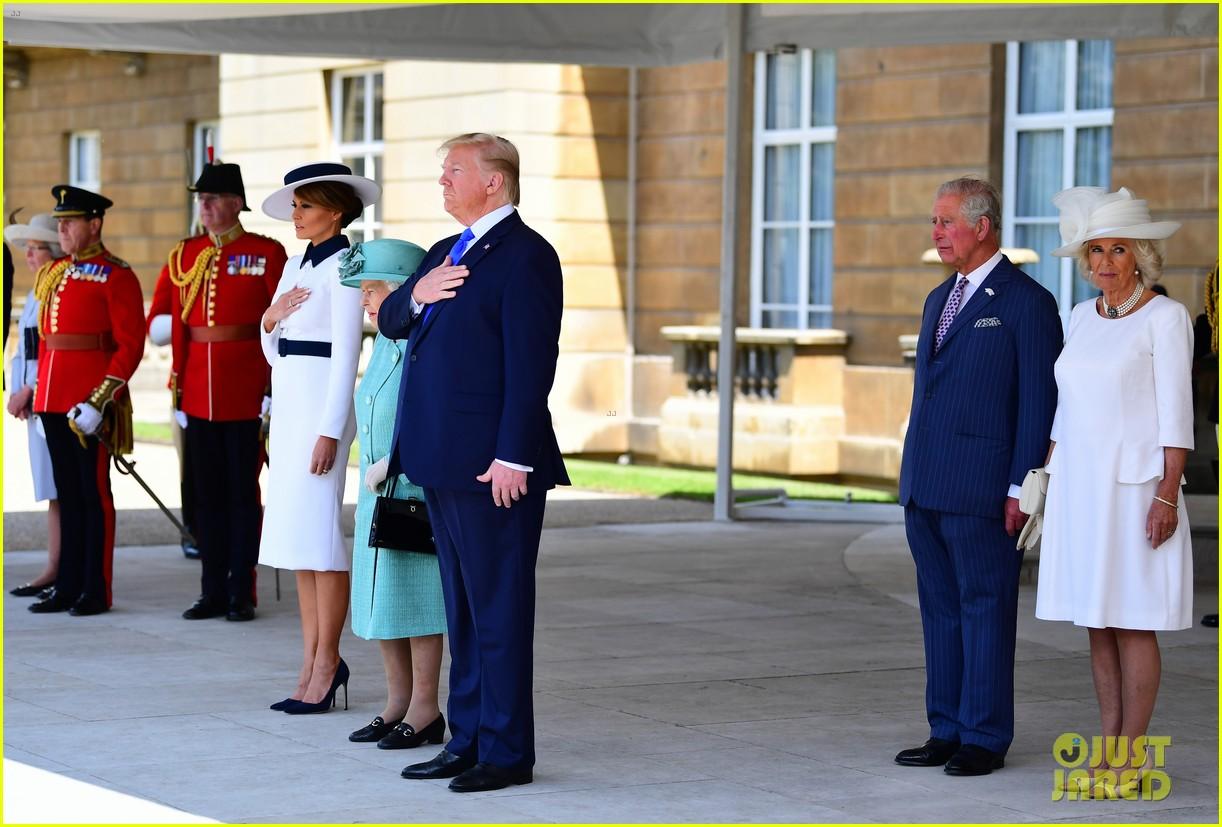 donald ivanka trump meet with queen elizabeth ii at buckingham palace 06
