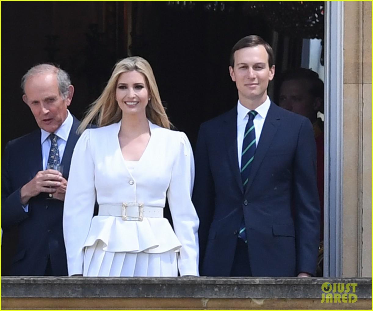 donald ivanka trump meet with queen elizabeth ii at buckingham palace 07