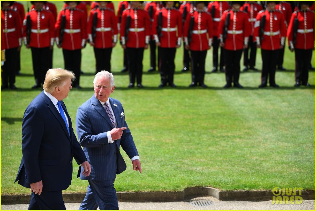donald ivanka trump meet with queen elizabeth ii at buckingham palace 08
