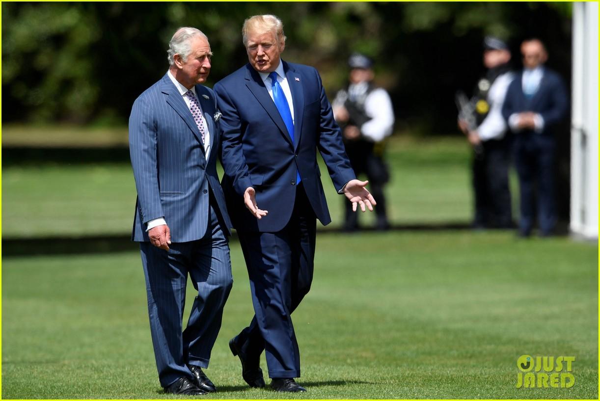 donald ivanka trump meet with queen elizabeth ii at buckingham palace 11
