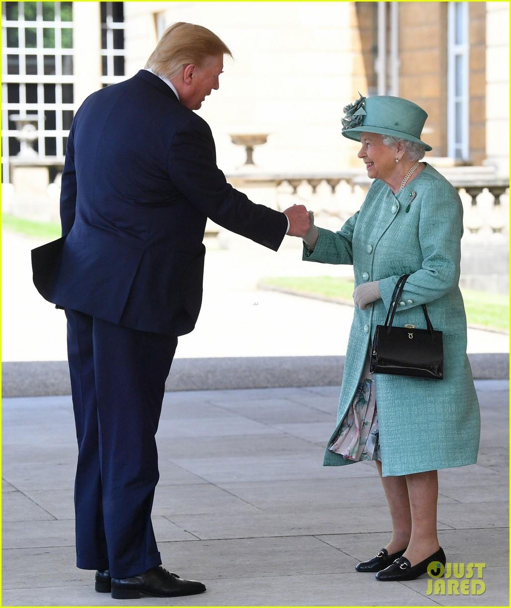 donald ivanka trump meet with queen elizabeth ii at buckingham palace 13