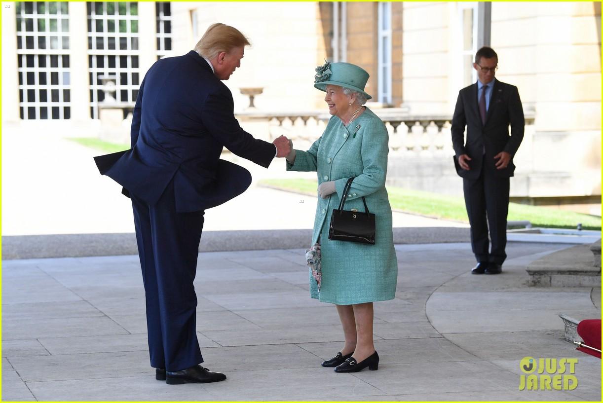 donald ivanka trump meet with queen elizabeth ii at buckingham palace 14