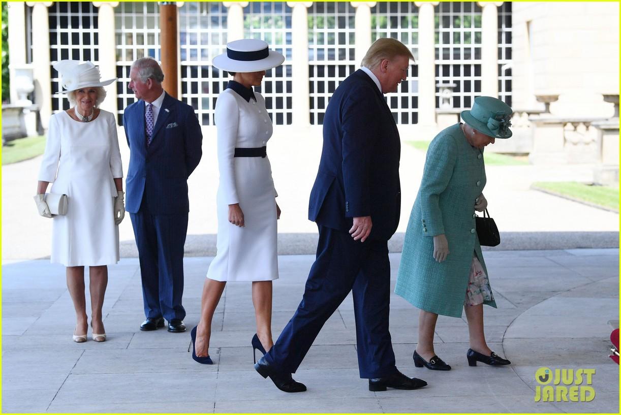 donald ivanka trump meet with queen elizabeth ii at buckingham palace 15