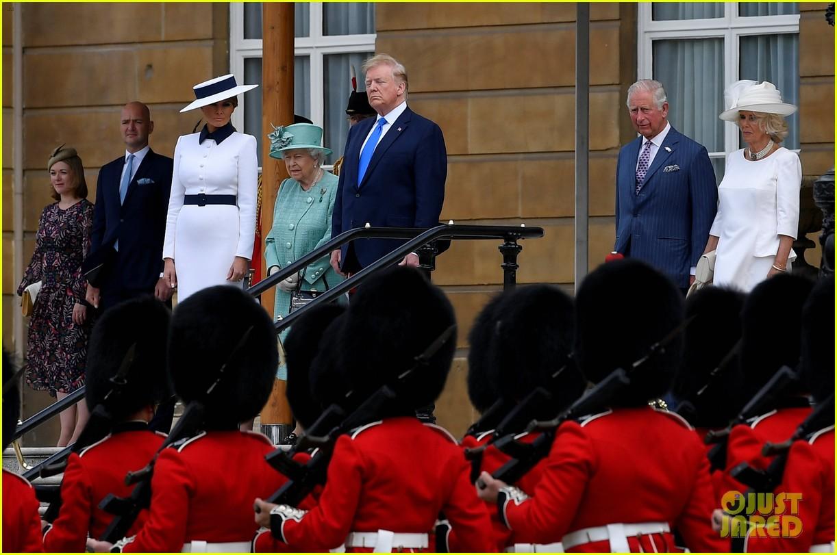 donald ivanka trump meet with queen elizabeth ii at buckingham palace 16