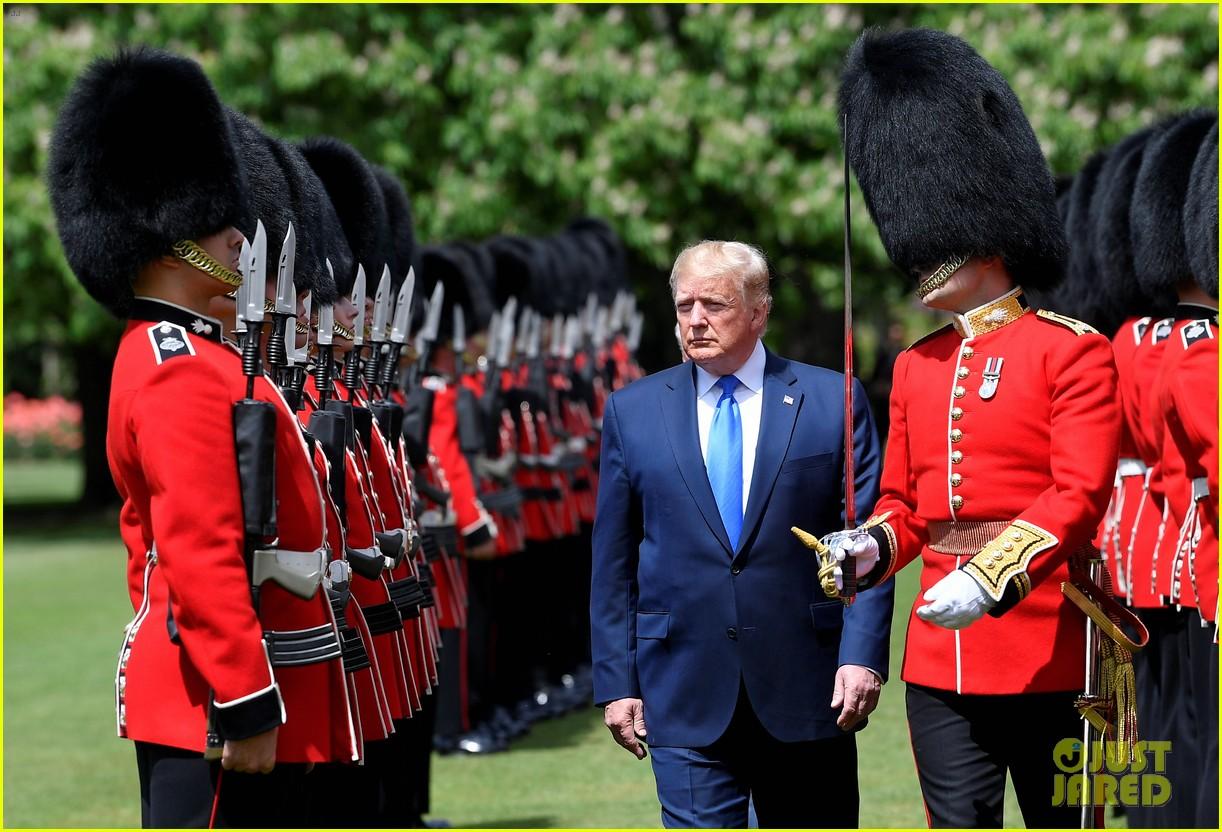 donald ivanka trump meet with queen elizabeth ii at buckingham palace 17