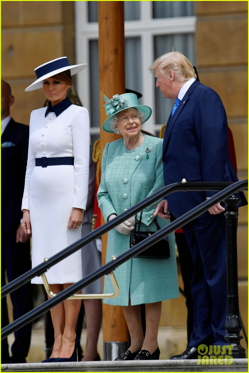 donald ivanka trump meet with queen elizabeth ii at buckingham palace 18