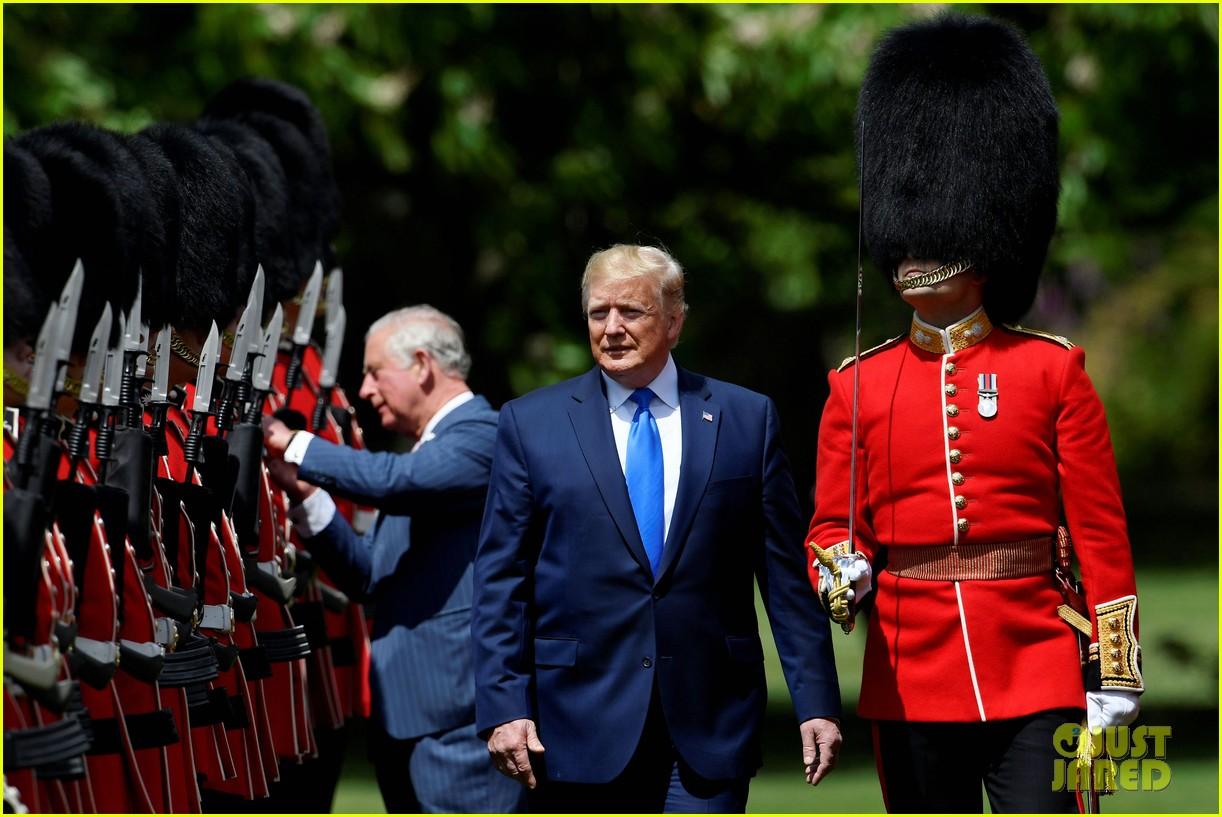 donald ivanka trump meet with queen elizabeth ii at buckingham palace 19