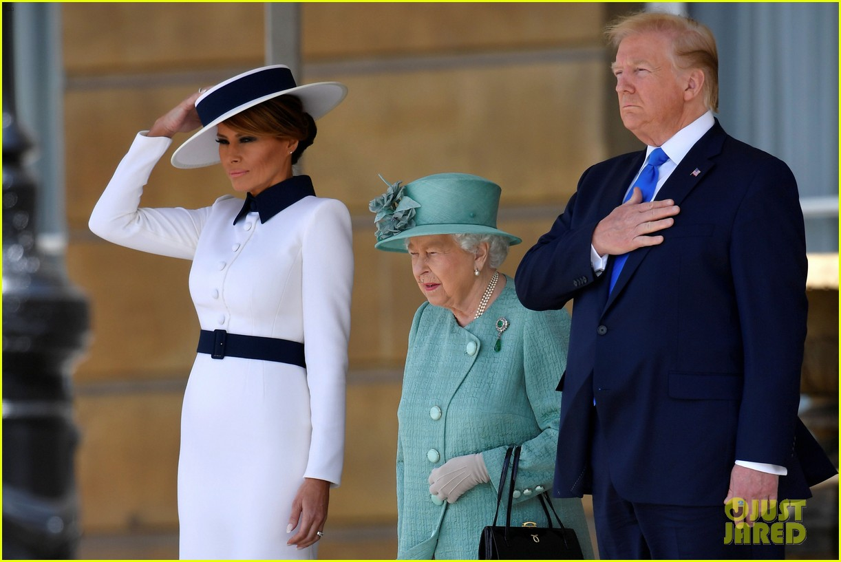 donald ivanka trump meet with queen elizabeth ii at buckingham palace 22
