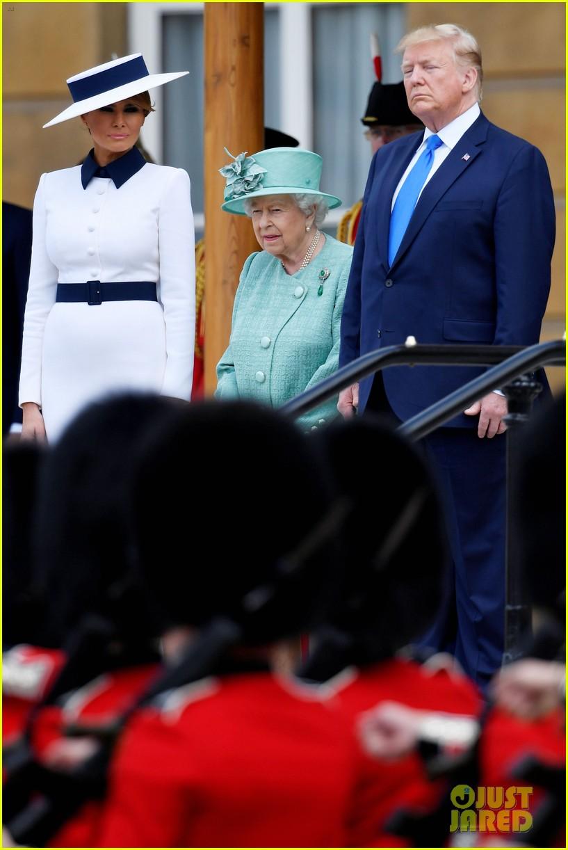 donald ivanka trump meet with queen elizabeth ii at buckingham palace 24