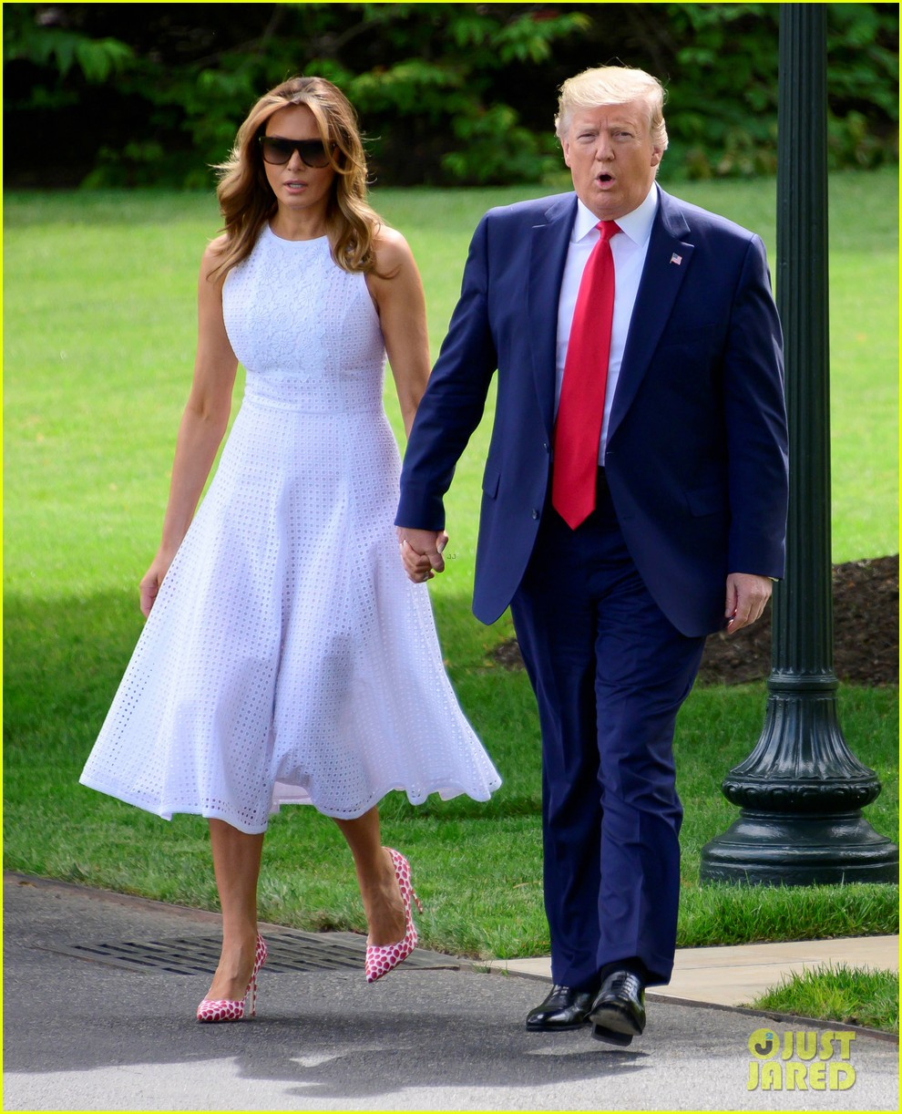 president trump melania head to florida to announce 2020 re election campaign 014311632