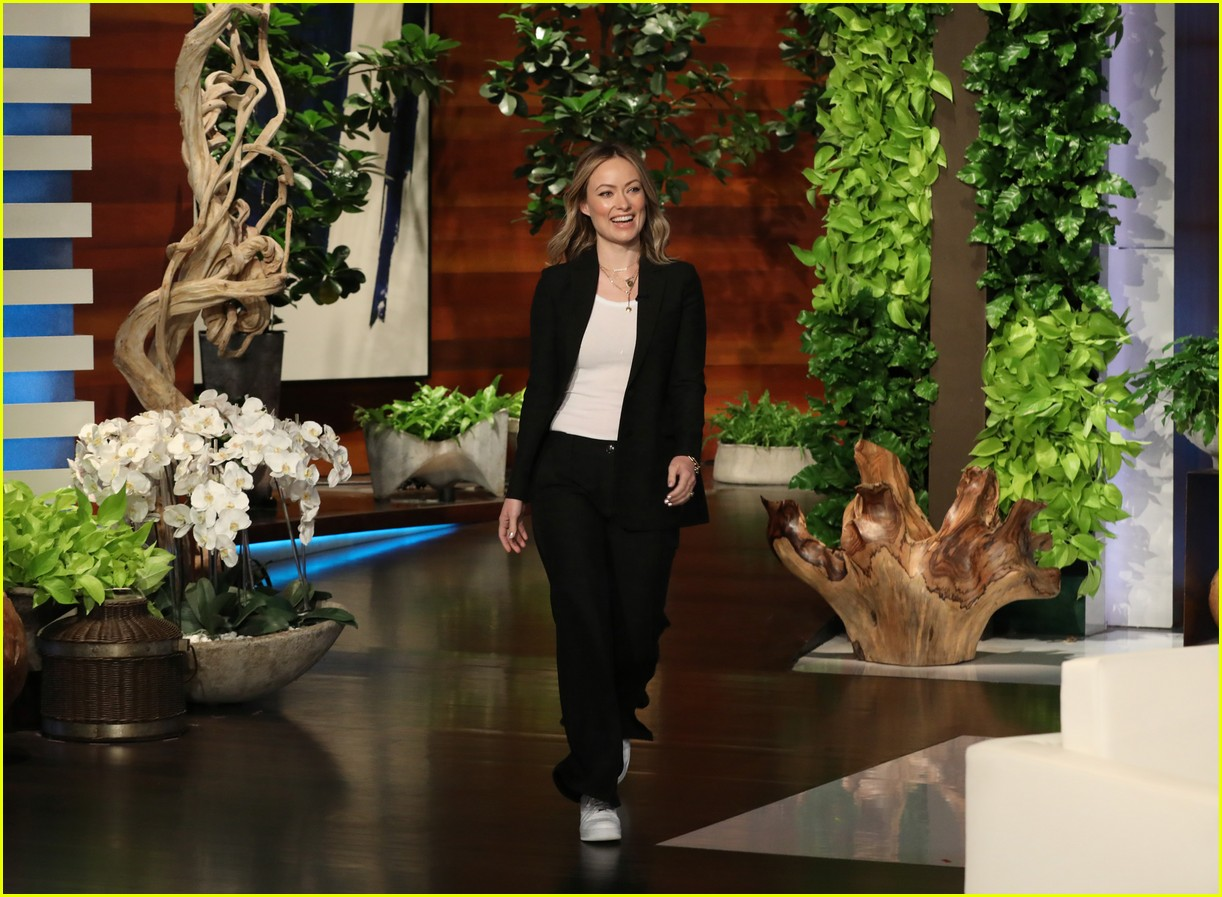 olivia wilde jason sudeikis on ellen 024308237