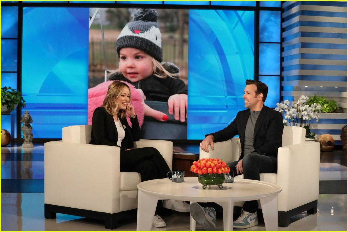 olivia wilde jason sudeikis on ellen 034308238