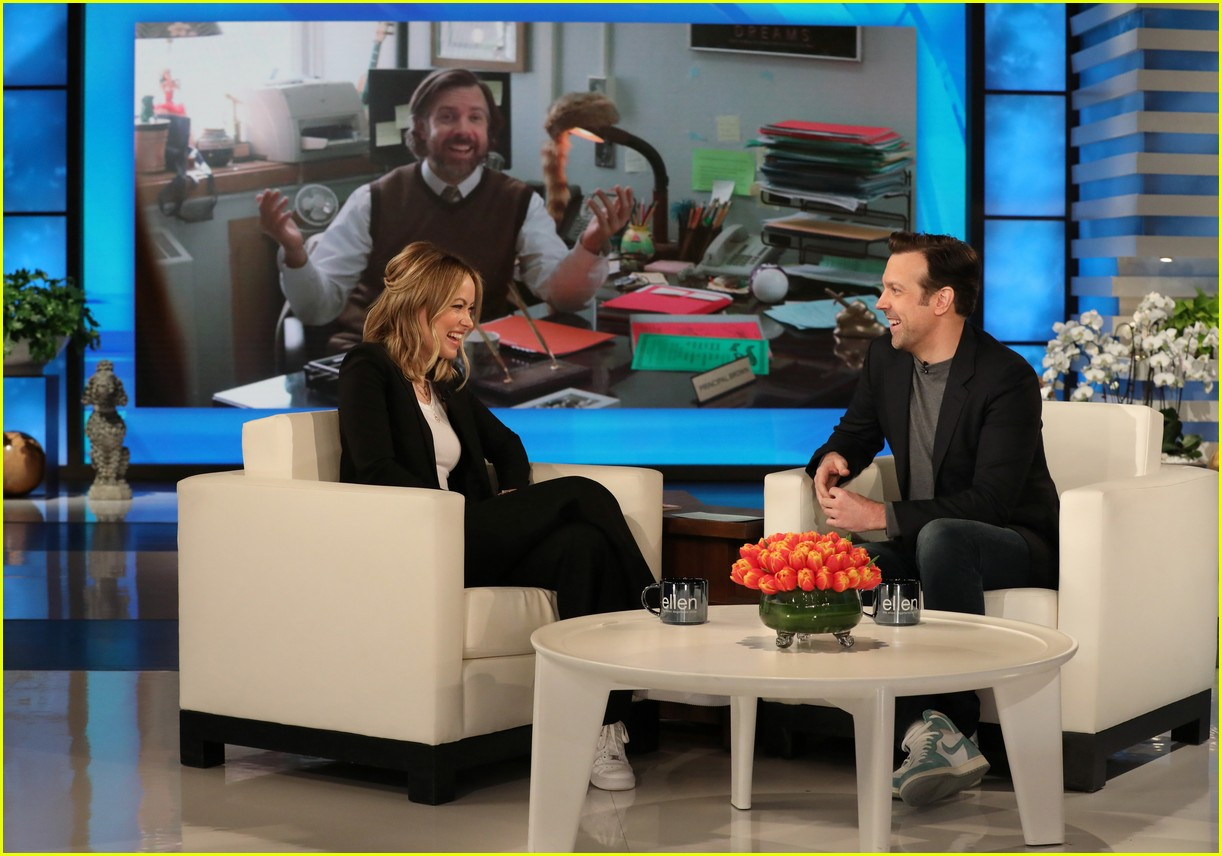 olivia wilde jason sudeikis on ellen 144308249