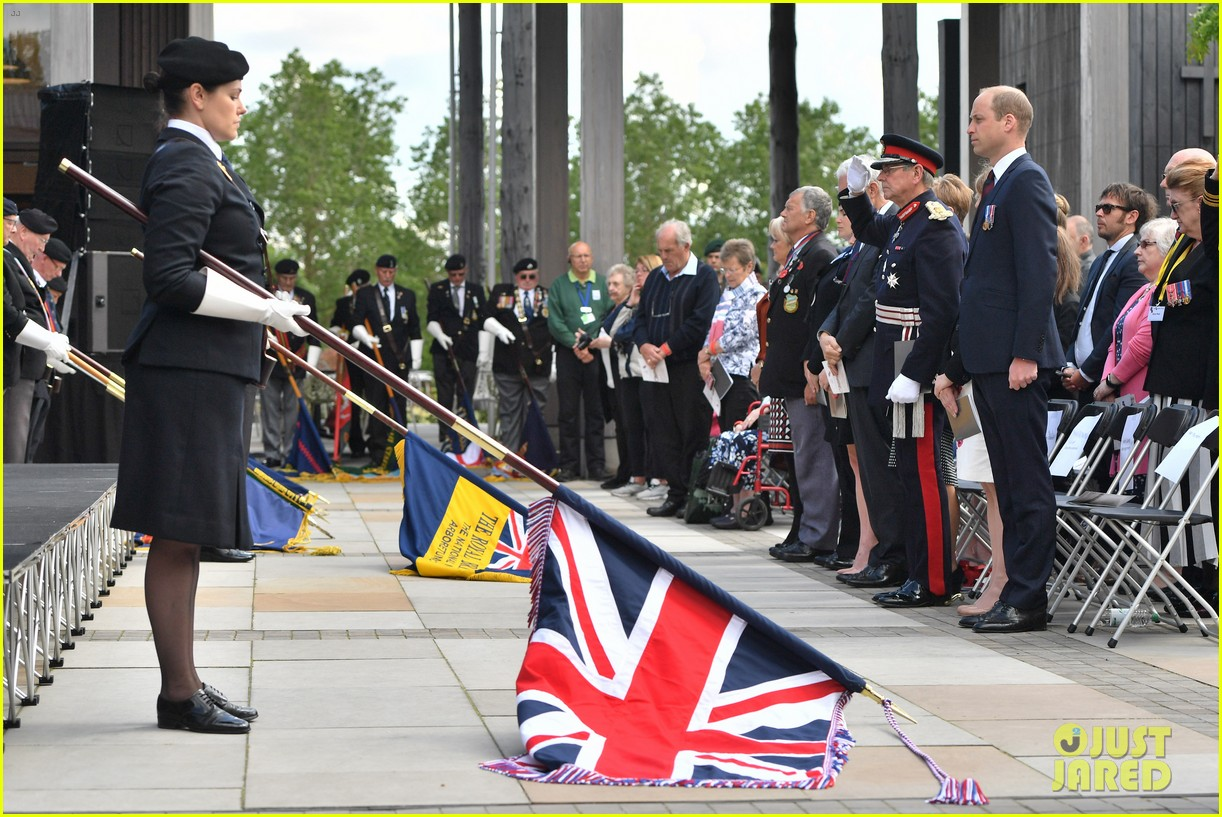 prince harry prince william step out solo for d day royal duties 08