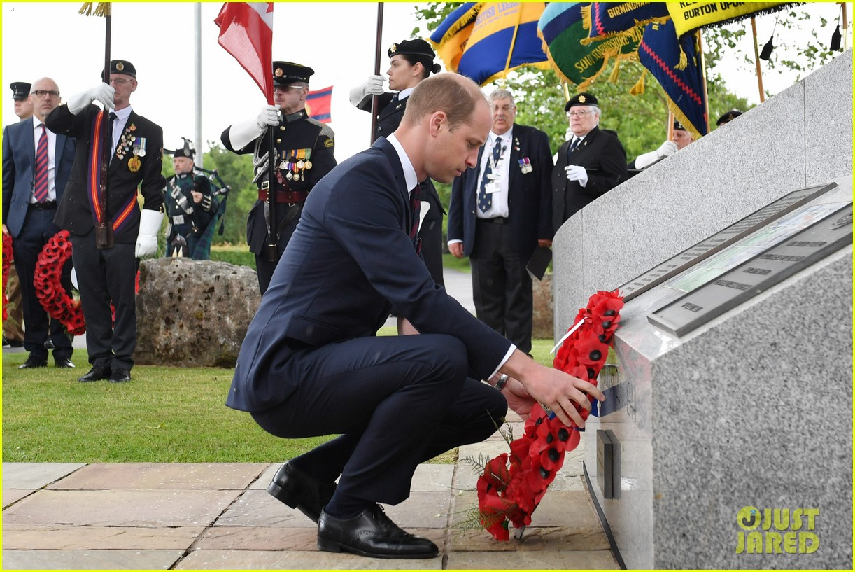 prince harry prince william step out solo for d day royal duties 09