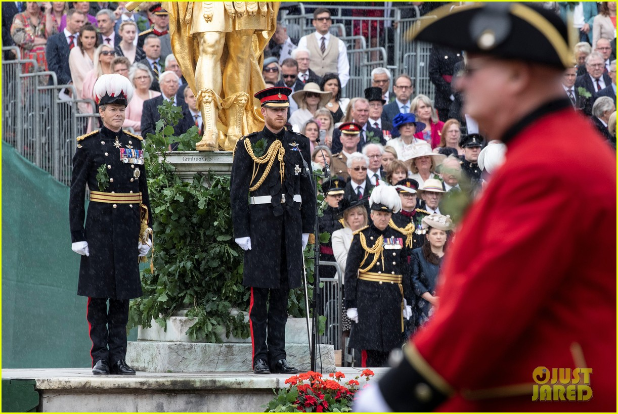 prince harry prince william step out solo for d day royal duties 11