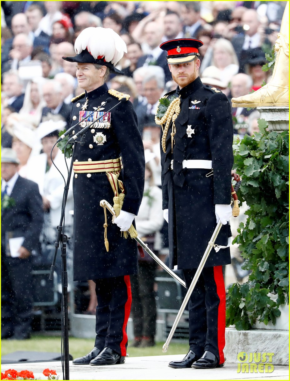 prince harry prince william step out solo for d day royal duties 22