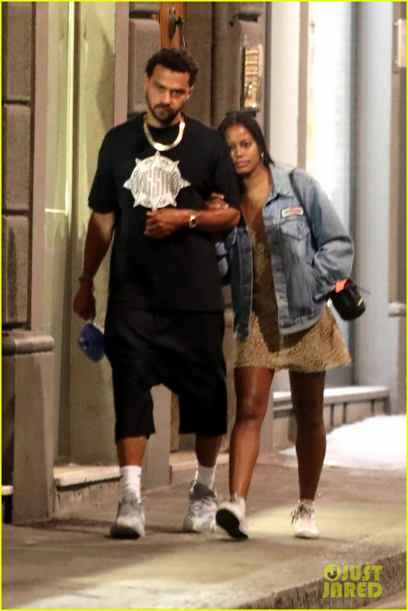 jesse williams taylour paige romantic stroll in italy 014311954