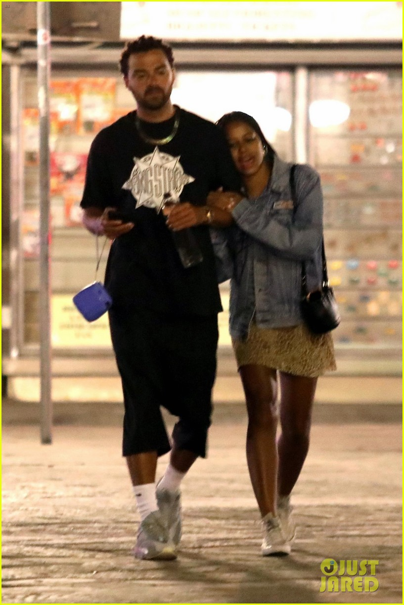 jesse williams taylour paige romantic stroll in italy 064311959