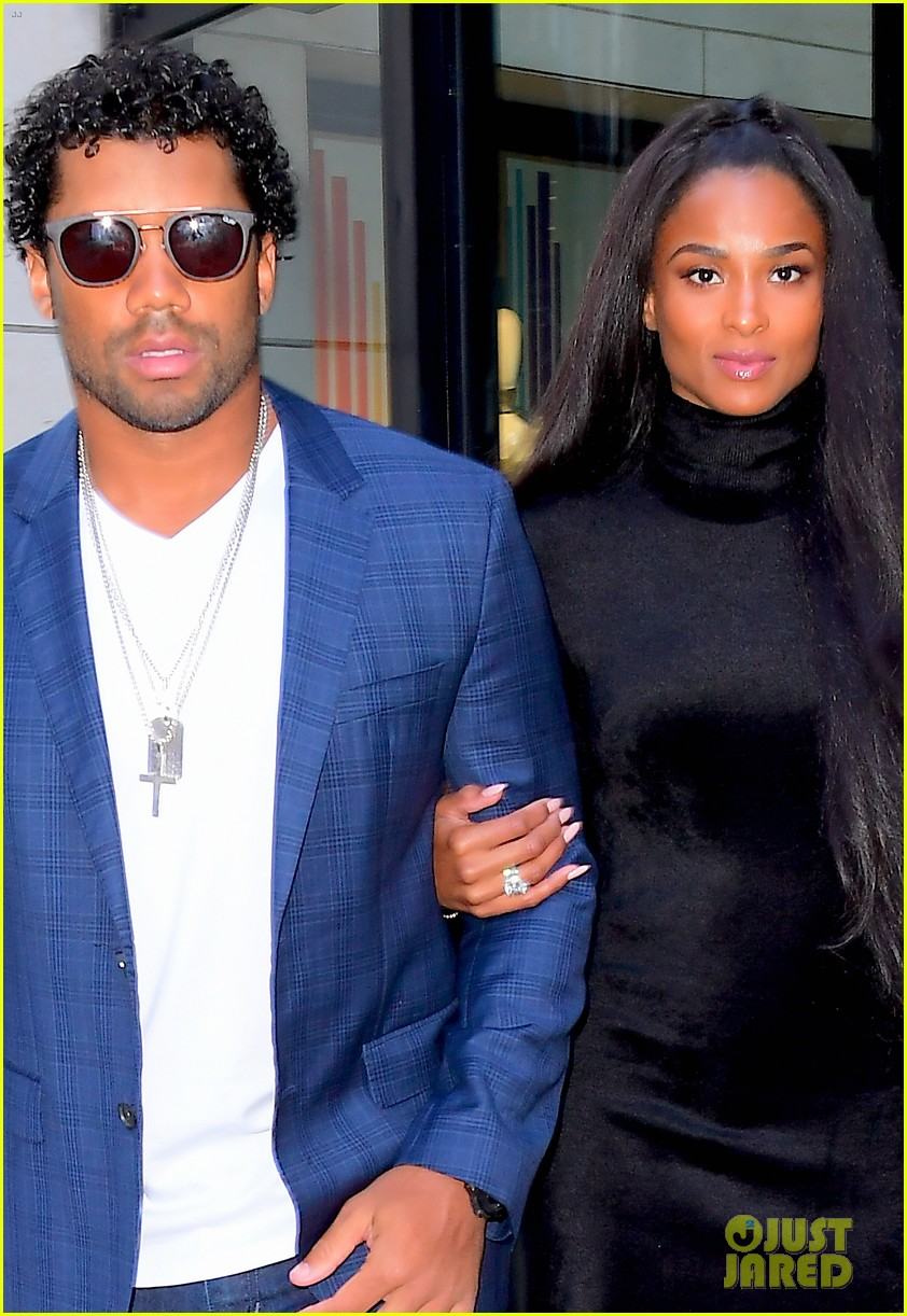 ciara russell wilson step out in style for dinner in nyc 02