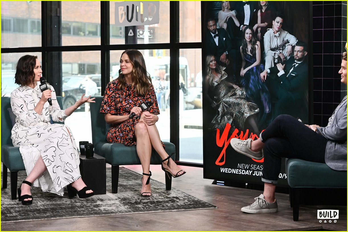 sutton foster younger cast at build series 014308914