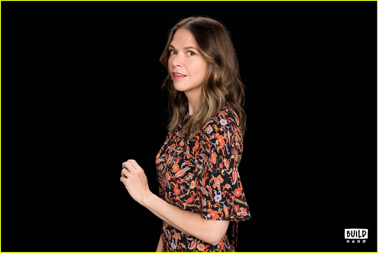 sutton foster younger cast at build series 264308939