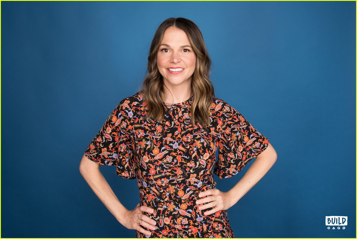 sutton foster younger cast at build series 284308941