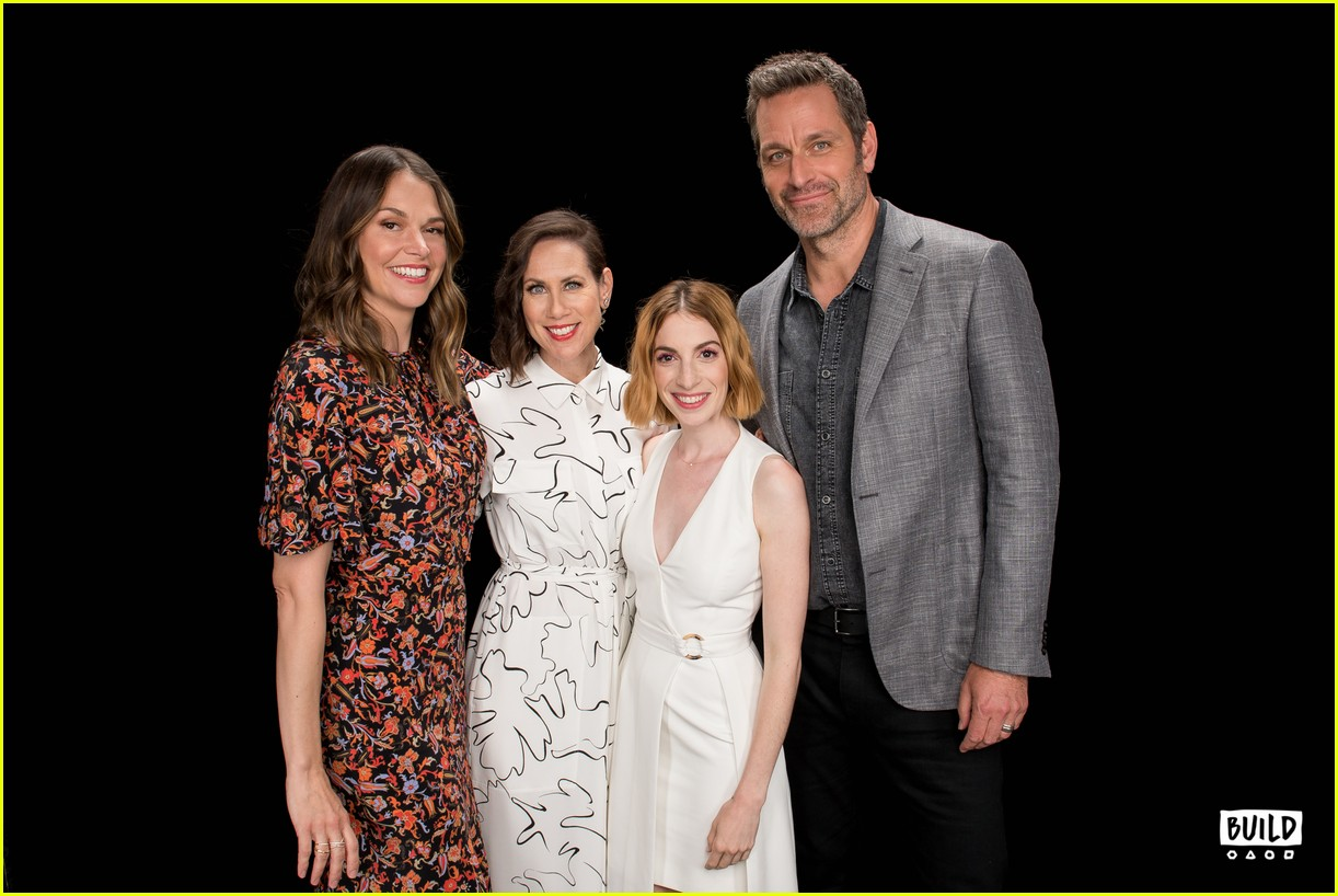 sutton foster younger cast at build series 294308942