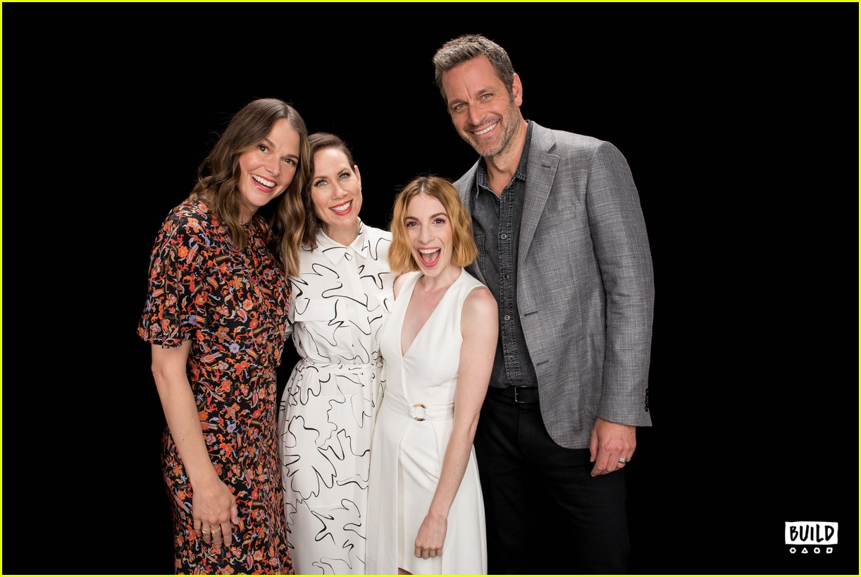 sutton foster younger cast at build series 304308943