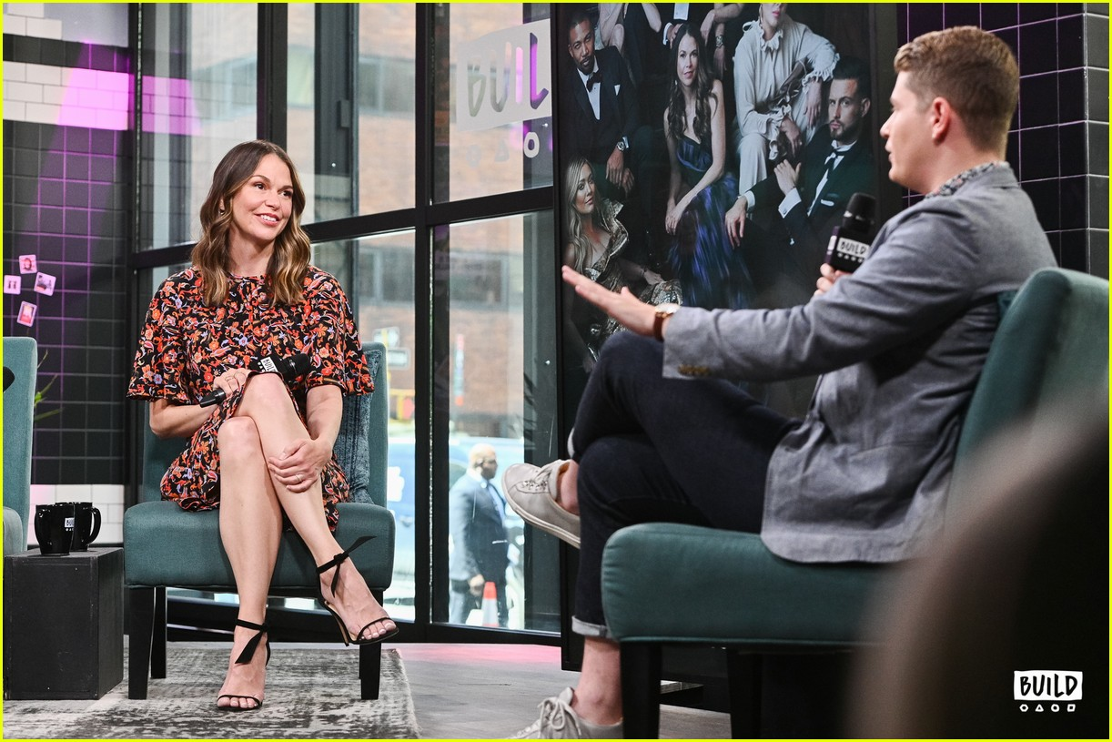 sutton foster younger cast at build series 354308948