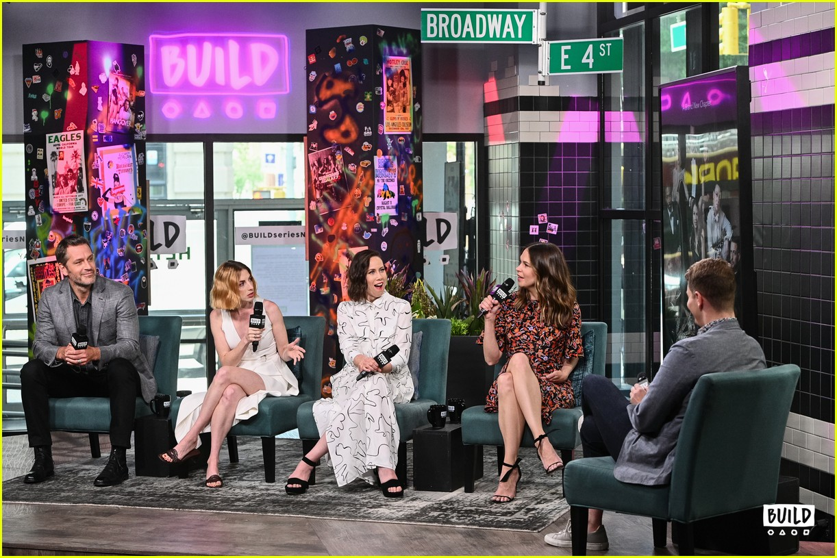 sutton foster younger cast at build series 404308953