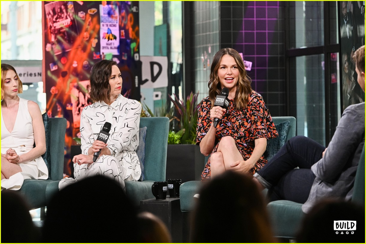 sutton foster younger cast at build series 454308958